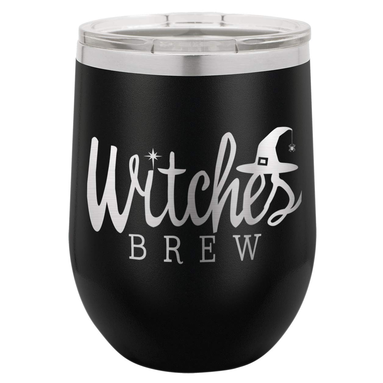 Funny Halloween Wine Tumbler With Lid