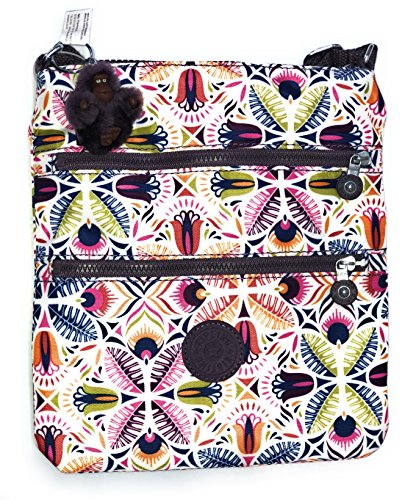 Kipling Womens Keiko Crossbody Mini Bag One Size Vibrant Collage