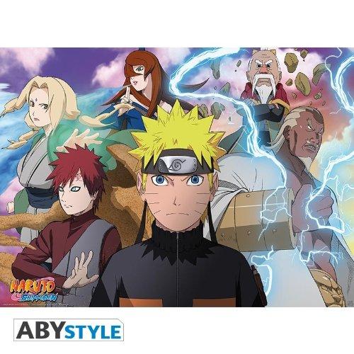 Amazon.com: Naruto Shippuden Cartel Naruto y Kage (20
