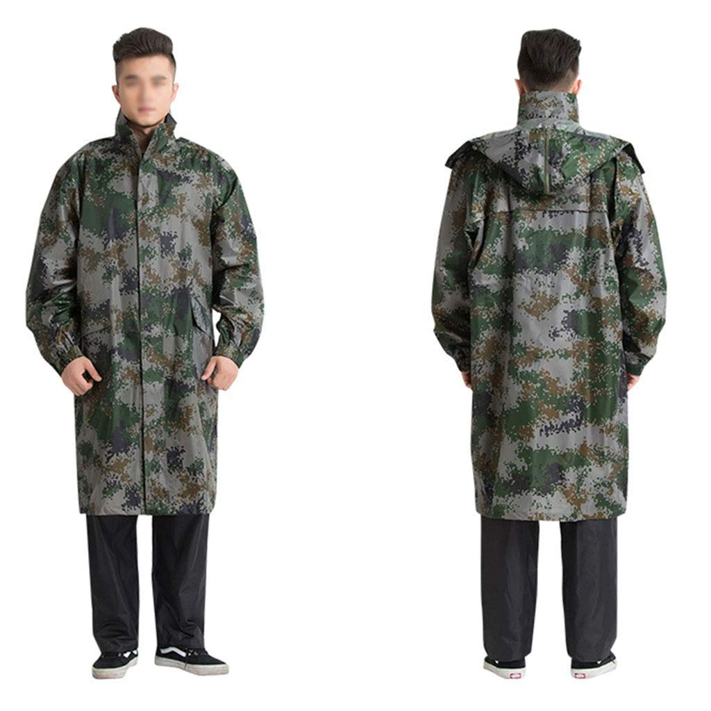LANTA Home Outdoor einteiliger Langer Regenmantel Männer und und und Frauen Windjacke Regenmantel Outdoor Reiten Regenbekleidung (Farbe  A Größe  3XL) (Farbe   A, Größe   Large) B07N63V4H1 Regenjacken & -mntel Zu verkaufen 30822d