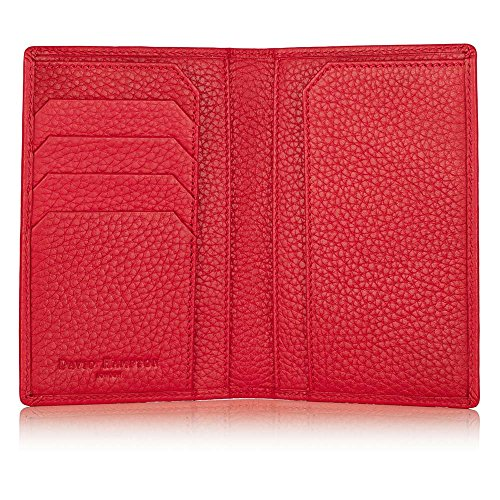 David Hampton Richmond Leather Passport Holder (Red) by David Hampton
