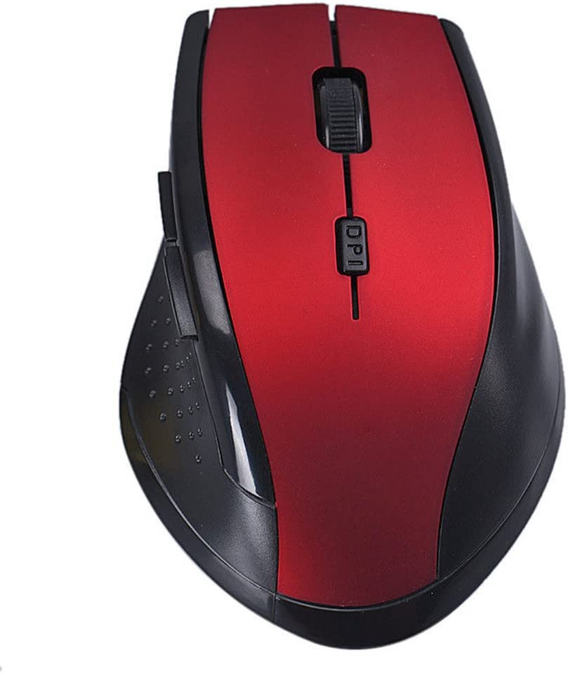 Blue ZKxl8ca 2.4GHz Wireless Optical USB Gaming Mouse Mice 2000DPI for Computer PC Laptop