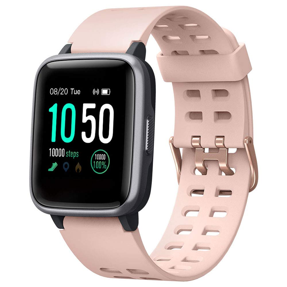 YAMAY Smart Watch for Android and iOS Phone IP68 Waterproof, Fitness Tracker Watch with Heart Rate Monitor Step Sleep Tracker, Smartwatch Compatible with iPhone Samsung, Watch for Men Women- Buy Online in