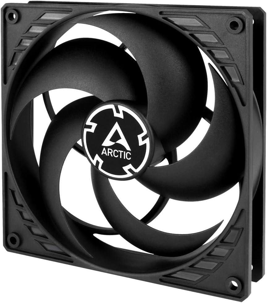 ARCTIC P14 PWM - 140 mm Ventilador de Caja para CPU con PWM, Motor Muy Silencioso, Computadora, 200-1700 RPM - Negro/Negro: Amazon.es: Informática
