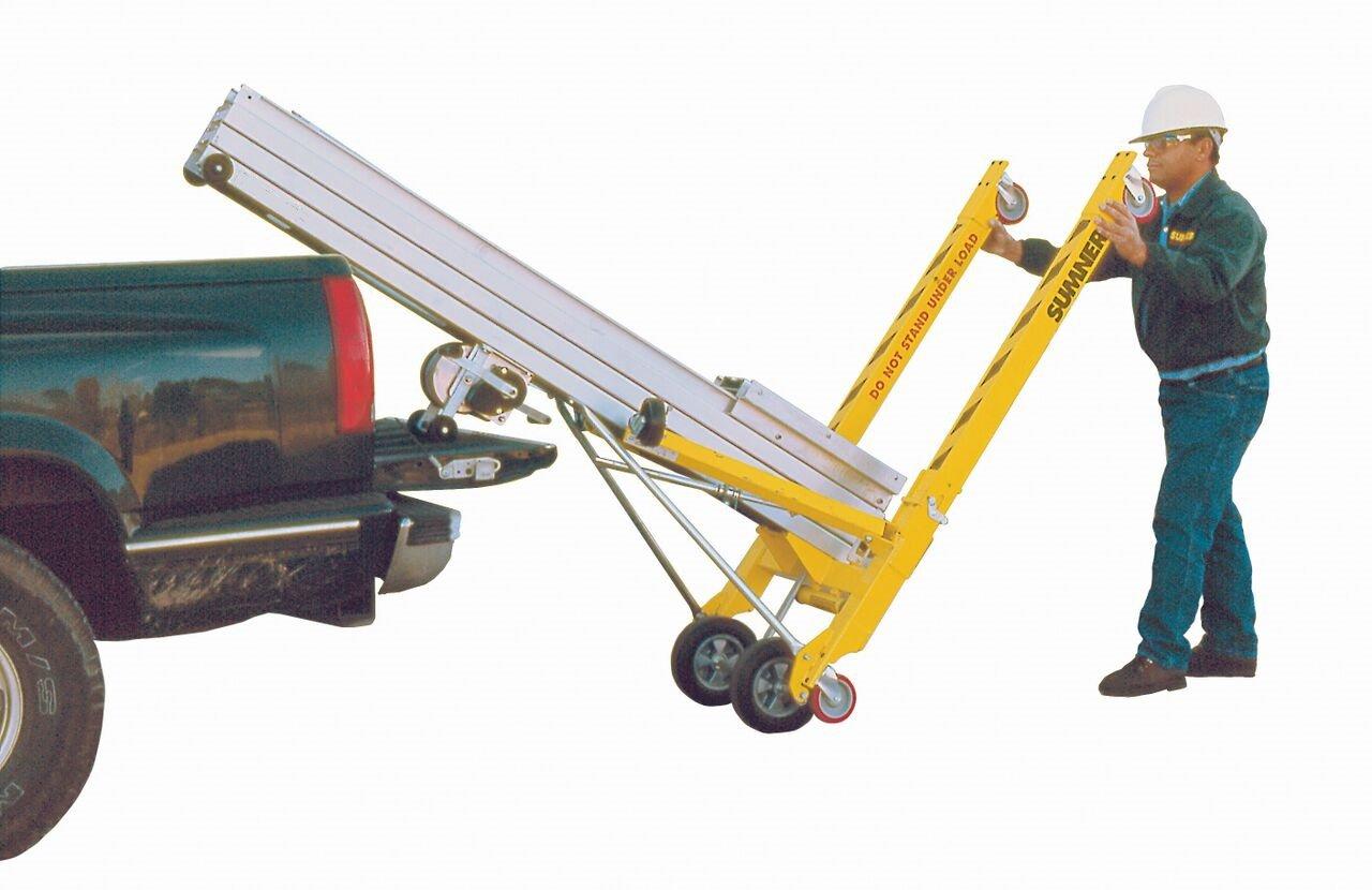 800 lb 16-2-1//2 Maximum Height Lifting Capacity Sumner Manufacturing 783701 2015 Material Lift