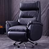 Feceyq Ergonomic High Back Executive Office Chair with Thick Padding Headrest and Armrest Home Office Chair with Tilt…