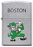 Boston Pride Fighting Irish Leprechaun Chrome Zippo Lighter