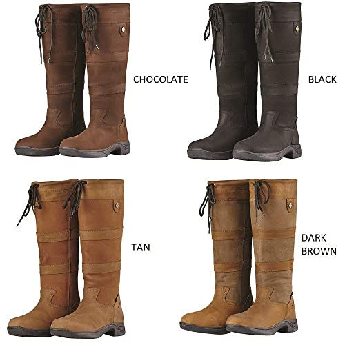 61cc459f87 Dublin River Boots with Waterproof Membrane and Widths Dark Brown - Free  NIKWAX Gift