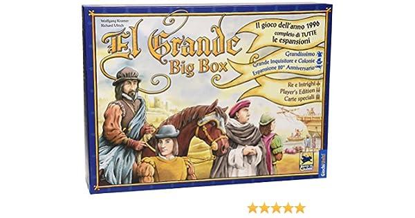 Giochi Uniti Juegos de EE.UU. - El Grande Big Box: Amazon.es ...