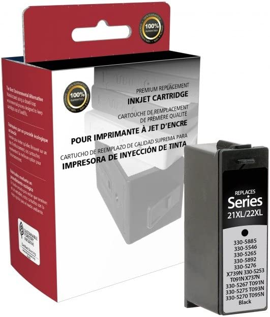 Dell Series 21XL//22XL Black Inkjet Cartridge