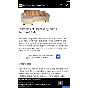 Sectional Sofa Decor: Amazon.es: Appstore para Android