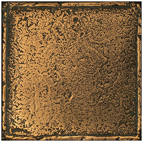 Dal-Tile 661P-MS11 Metal Signatures Tile,, 6'' x 6'',, Aged Bronze by Daltile