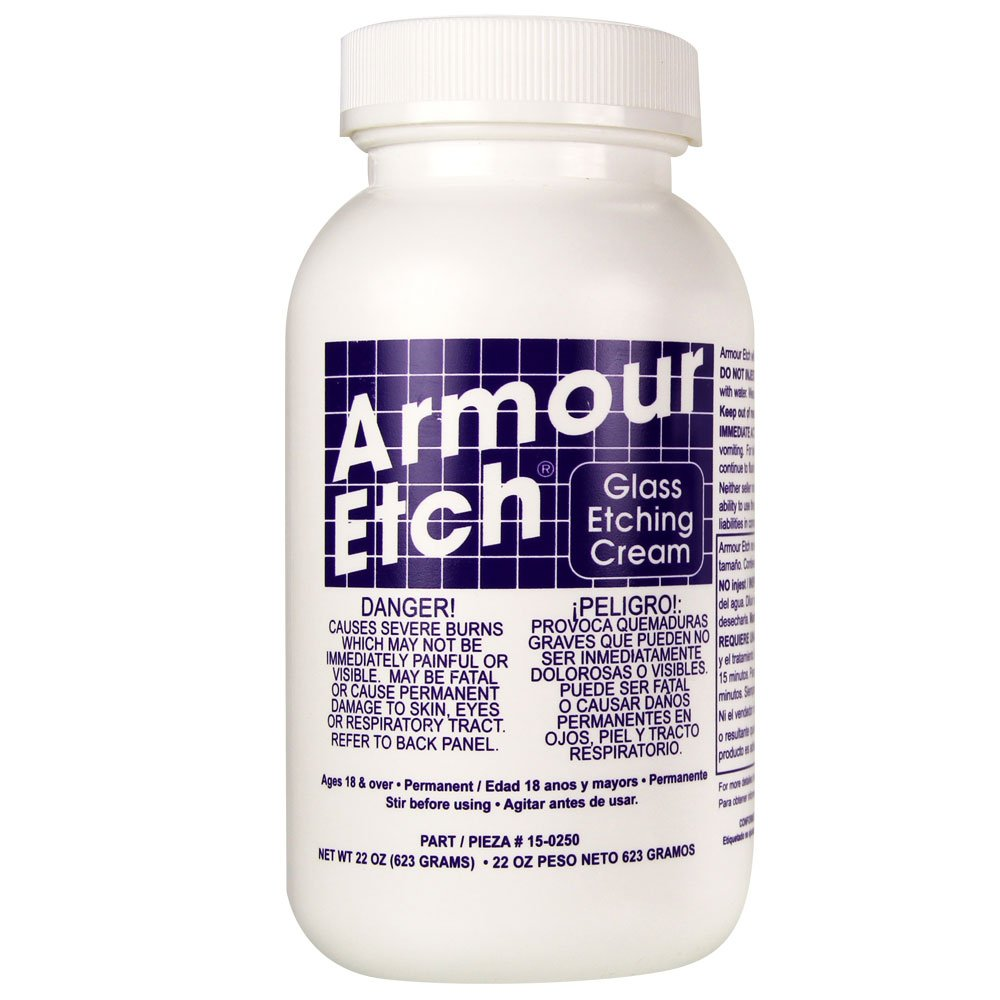 Armour Etch 15-0250 Etching Cream, White