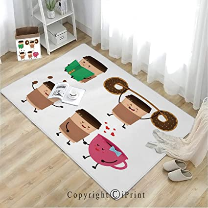 Amazon com : mat for Bathroom Rug Dining Room Home Bedroom