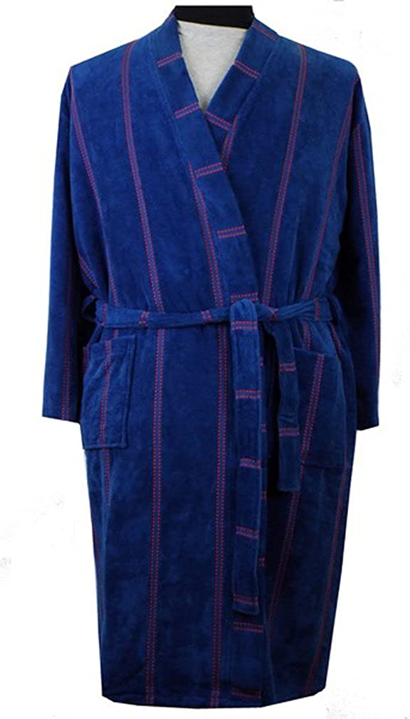 Espionage Men s Towelling Velour Cotton Dressing Gown  Amazon.co.uk   Clothing 79238080b