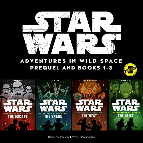 Star Wars Adventures in Wild Space: Books 1-3: The Star Wars Adventures in Wild Space Series, book 1-3 by Disney and Blackstone Audio