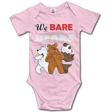 f5537b68f741 Amazon.com   Grace Little We Bare Bears Unisex Fashion Newborn Baby ...