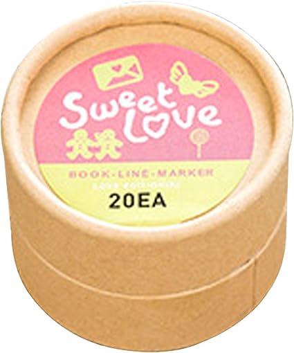 Lot de 20/mini marque-pages argent/és en m/étal En forme dinsectes Cadeau chic Love Ring