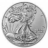 2021 American Silver Eagle Type 2 .999 Fine Silver