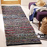 Cheap Safavieh Cape Cod Collection CAP364A Hand Woven Multi and Natural Jute and Cotton Area Rug (2′ x 3′)