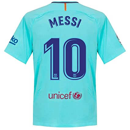 3e78c296528 Amazon.com : Nike Barcelona Away Messi Jersey 2017/2018 (Official ...
