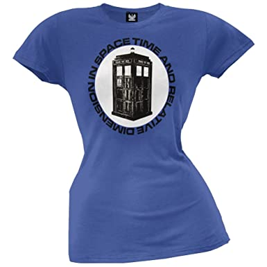 Time And Relative DiMension Juniors T-Shirt Doctor Who