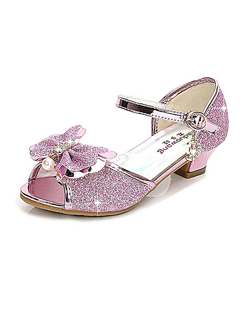 WEONEDREAM Girls Shoes Wedding Ankle Strap Sandals Sandals Size 11.5-5.5 weoendream18052401