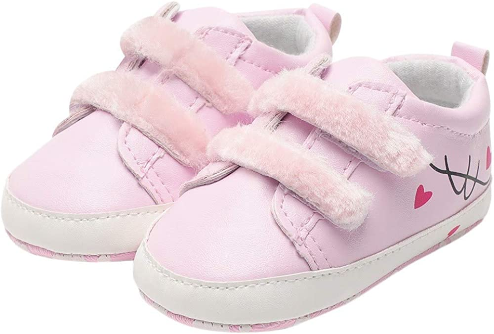 Newborn Baby First walkers Shoes Girls Leather High Bandage Sandals Voberry