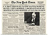 "Poster Print entitled World War II: Headline, 1941 by Great BIG Canvas 24""x18"""