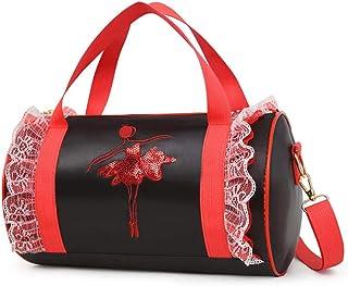 Chengstore Personalizzabile da ragazza danza classica borsa a tracolla borse a tracolla per ballerina latina Dancer Girls rosa
