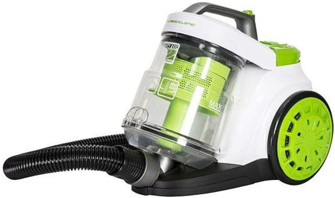 Cecotec Aspirador Trineo Conga Turbociclonic. Aspirador sin bolsa, capacidad 3 l,10 fases de filtración, 5 ciclones,doble filtro HEPA, 4 accesorios: Amazon.es: Hogar