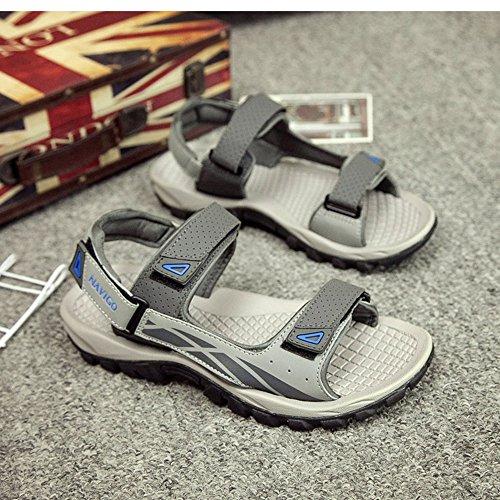 Sandali maschili Scarpe estive da spiaggia Sandali sportivi da esterno per il tempo libero antiscivolo ( dimensioni : EU41/UK7.5-8/CN42 )