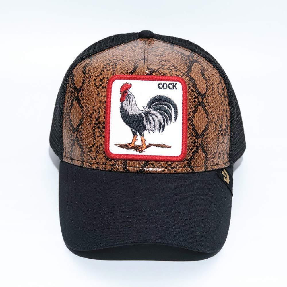 Gorra de béisbol de Animales Spot Gorra de Malla de Bordado de ...