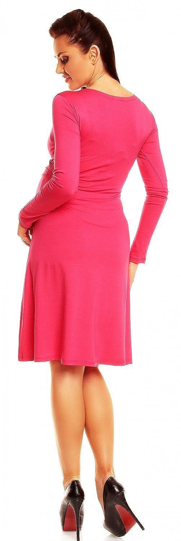 Zeta Ville maternit/é 890c manche longue robe jersey de grossesse femme