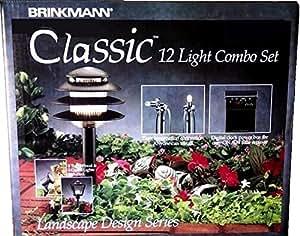 Brinkmann Landscape Design Series Classic Outdoor Low Voltage 12-Light Combo Set