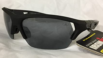 5c172a88eb Image Unavailable. Image not available for. Color  Ironman Sunglasses  Excursion Black Foster Grant Polarized