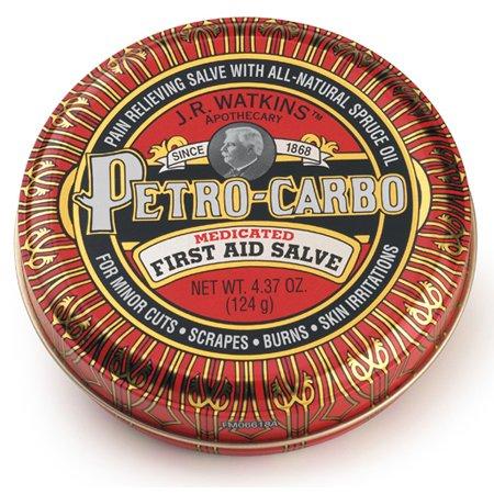 JR Watkins Apothicaire Petro-carbo médicamenteux pommade premiers secours 4.37 oz