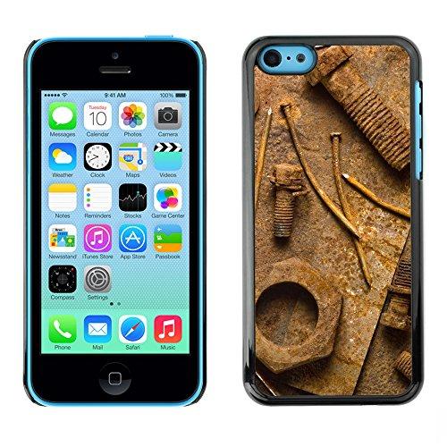 Premio Sottile Slim Cassa Custodia Case Cover Shell // V00002022 Rouille // Apple iPhone 5C
