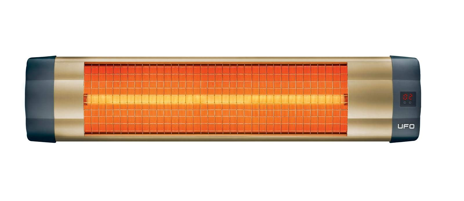 CDM product UFO UK-15 Electric Infrared Heater with Remote Control big image
