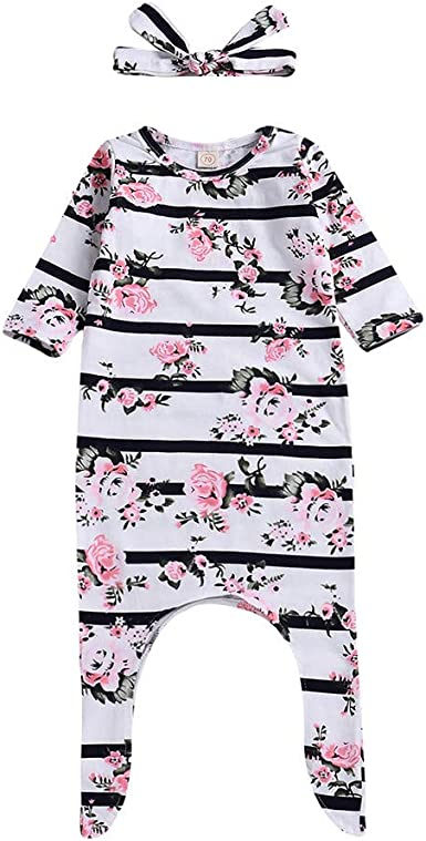 Baby Kids Outfits,Fineser Lovely Newborn Baby Girl Floral Tops Hoodie Pants Outfits 3Pcs Clothes Casual Clothes 3 Sets
