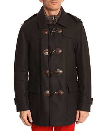 HACKETT - Duffle Coats - Men - Mayfair Navy Duffle Coat with