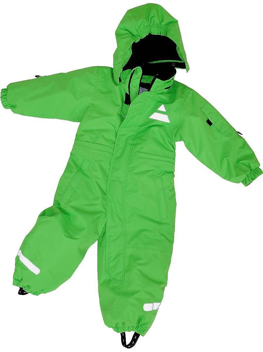 Maylynn Mini Baby Softshell Schneeanzug Schneeoverall grün
