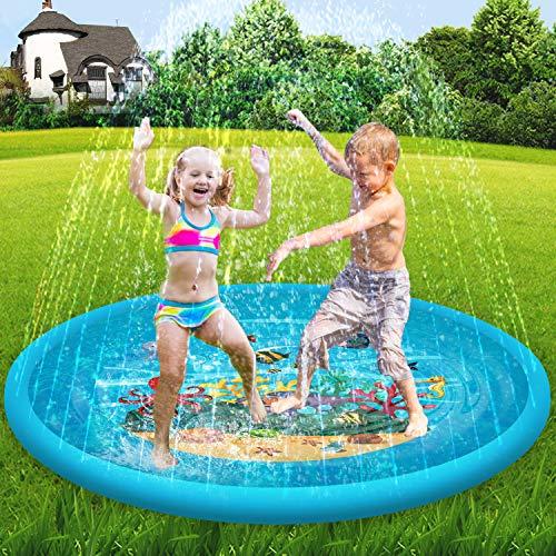 - Scientoy Splash Pad & Sprinkler for Kids,68