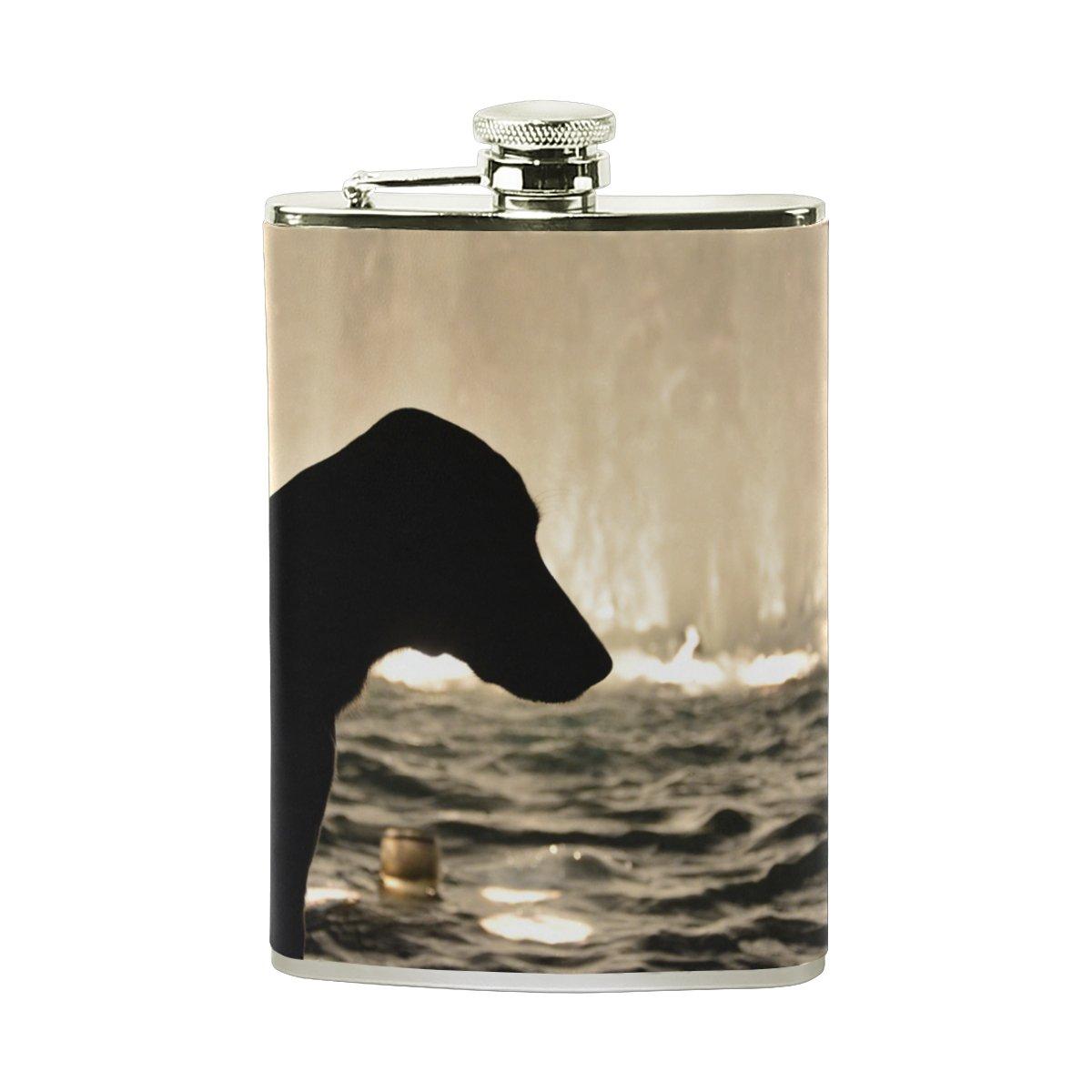 【安心発送】 deyyaメンズ犬ステンレス鋼ポケットヒップフラスコワインウイスキーポットDrinking B07951YQX6 Spirits Spirits Liquor Liquor B07951YQX6, カミングネット株式会社:8b8877b1 --- a0267596.xsph.ru