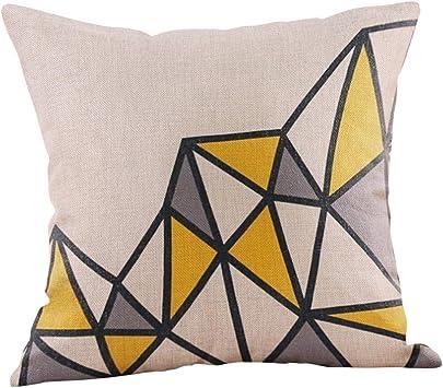 "Grey Loose Weave modern Fabric Cushion Covers 15/""X15/"""