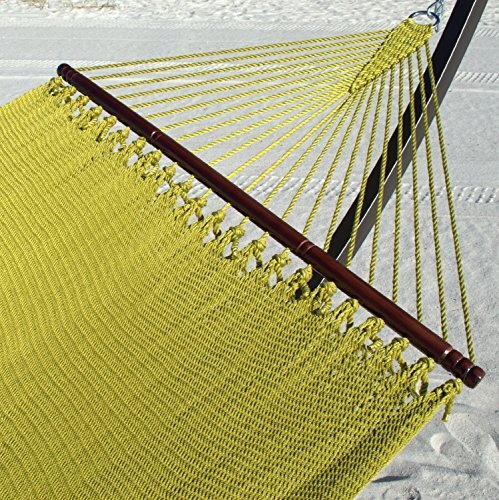 (Caribbean Hammocks Jumbo 55 inch - Soft-Spun Polyester - Olive)