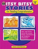 Itsy Bitsy Stories for Reading Comprehention, Grade K, Susan Collins, 1420632655