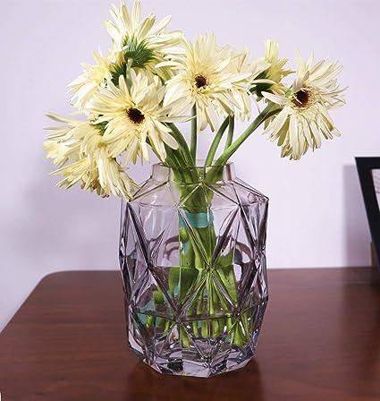 Vase Glass Glass Vases for Flowers Glass Flower Vases for Wedding Flower Vases & Amazon.com: Vase Glass Glass Vases for Flowers Glass Flower Vases ...