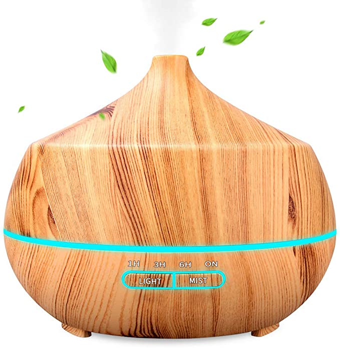 INSMART 400ml Luftbefeuchter Ultraschall Duftlampe Aroma Diffuser Ultra Leise