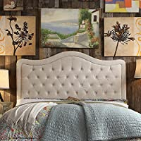 Rosevera A37K Turin Tufted Upholstered Headboard, King